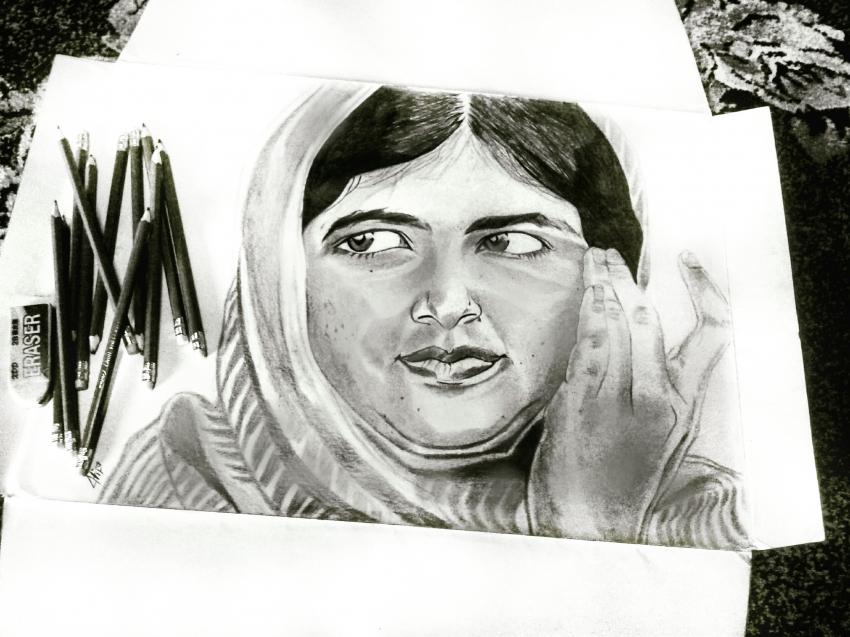 Malala Yousafzai par Atif